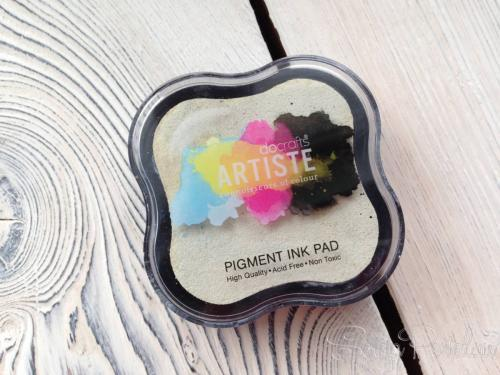 Штемпельная подушкаDocrafts Pigment ink pad White