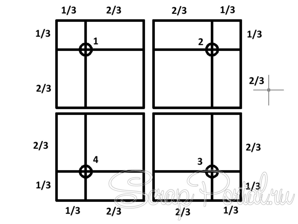Схемы расположения в скрапбукинге 49