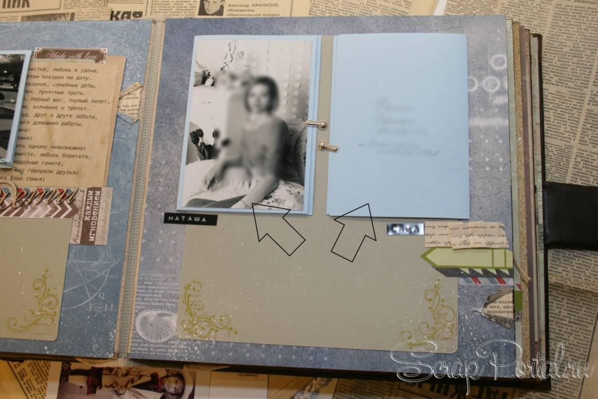 Схемы оформления страниц альбомов в скрапбукинге